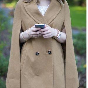 Topshop Carmel cape coat